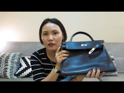 b59f400f7292 What fits in my Hermes Kelly 32 bag with an insert in