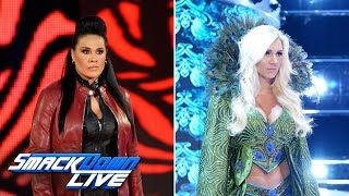 Shane McMahon ushers Charlotte Flair and Tamina onto the blue brand: SmackDown LIVE, April 11, 2017