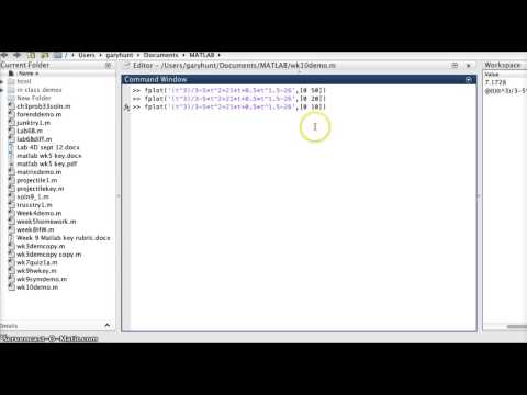 roots of non-linear functions using matlab