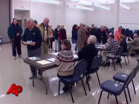 Raw Video: Early Voting in Virginia