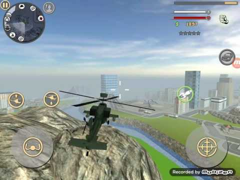 How to get Army Helicopter in Rope Hero Vice Town