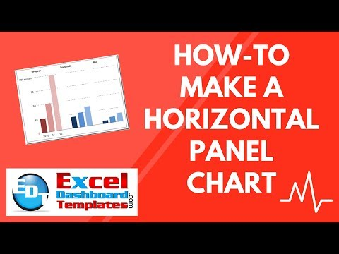 How-to Make a Horizontal Panel Chart in Excel