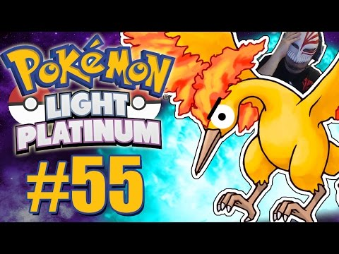 Pokémon Light Platinum #55 - CAPTURANDO A GALINHA DE FOGO VULGO MOLTRES!!