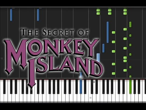 The Secret of Monkey Island - The Scumm Bar Piano Cover