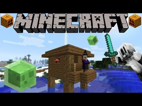 Minecraft 1.4 Snapshot: Witch Huts, Special Items, Pet TP Fix, Swamp Slimes, & More! 12w40a