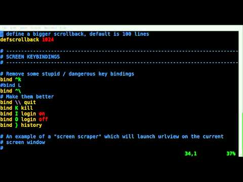 Change SHELL and Remove MSG at Screen startup - BASH - Linux