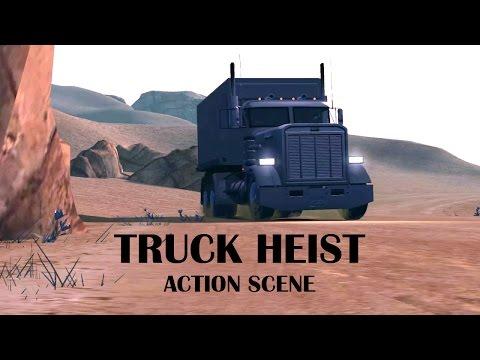GTA IV Truck Heist: Action Scene [15/15]