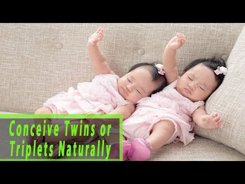 How to Conceive Twins or Triplets Naturally – How to Get Pregnant With Twins or Triplets Naturally