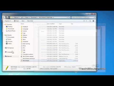 Create a Bootable USB flash Installer for Windows 7 / 8 / Vista / XP