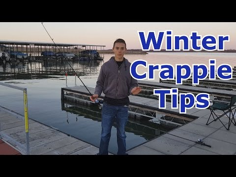 Winter Crappie Fishing -  Tips, Tricks, Techniques