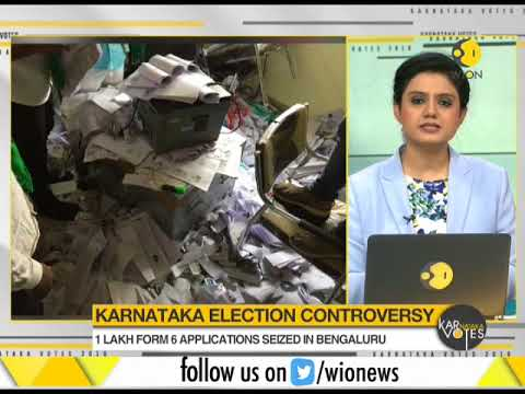 Karnataka election controversy: Thousands of voter IDs' recovered from Bengaluru apartment