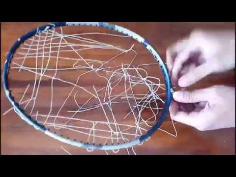 The Right Way To Remove The Badminton Racket String Were Broken