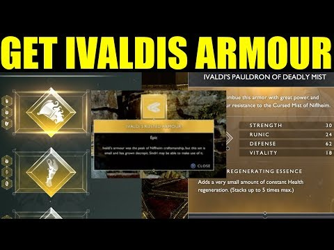 How To Get Ivaldis Armour (