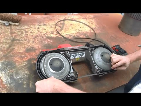 How to change a blade on a Milwaukee M18 Fuel Bandsaw
