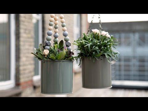 DIY : Hanging flower pot