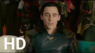 Thor 3 : Ragnarok Hulk & Loki Funny Movie Clip in HD