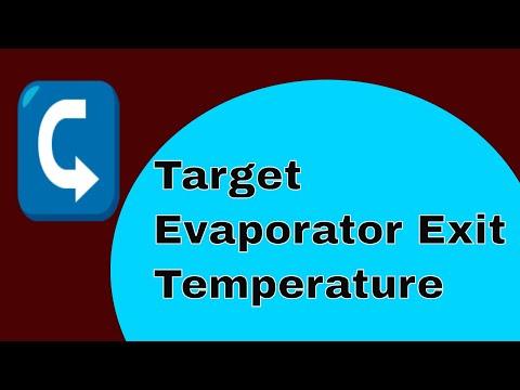 HVAC   Target Evaporator Exit Temperature