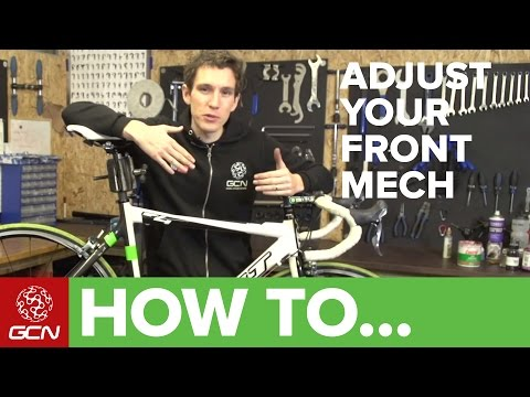 How To Adjust Your Front Derailleur