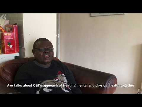 Ayo talks about C&I's approach of treating physical and mental health together