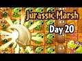 Plants Vs Zombies 2 Jurassic Marsh Day 20 La Brainsa Tarpits