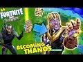FORTNITE AVENGERS Get Thanos Infinity Gauntlet Everytime Marvel Battle Royale FGTEEV 6