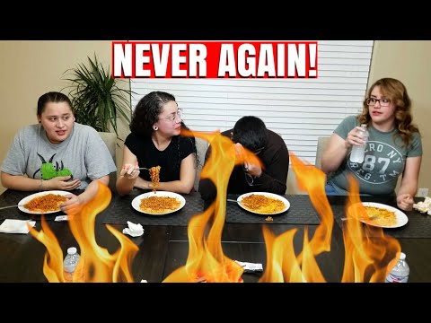 Hot Spicy Noodle 2x Gone Wrong!