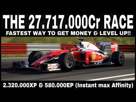 MOST INSANE FORZA 6 RACE!   27.717.000Cr + 2.320.000XP  + Instant Maxed Affinity!!