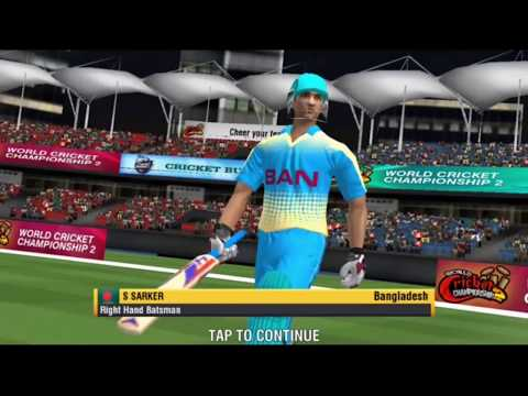 Australia vs Bangladesh World Cricket Championship 2 #WCC2 Cricket Match with #Funny Hindi Voice