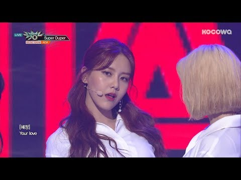 AOA - Super Duper [Music Bank Ep 931]