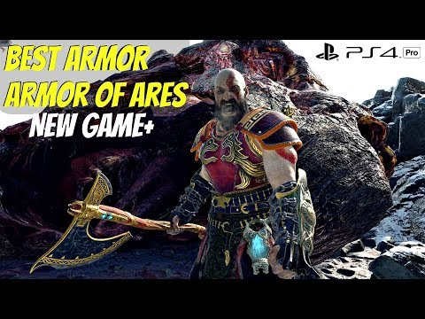 God Of War 4 NG DRAGON Boss Vs Blades Of Chaos ARMOR OF ARES