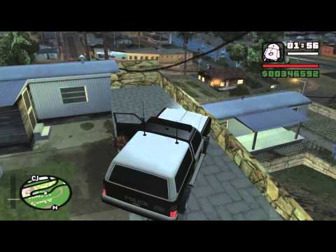 GTA San Andreas Driving Skill and Weapons (get pistol ammo)