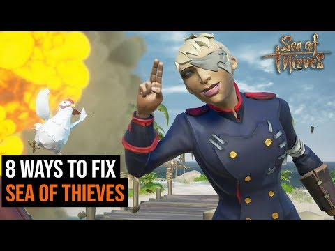 8 Ways To Fix Sea of Thieves