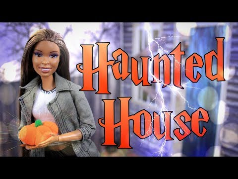 DIY - How to Make: Doll Haunted House | Multi Room Halloween Doll House