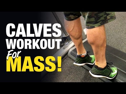 Calves Workout For Mass: No More Chicken Legs! (Weak Point Training Ep. 1)