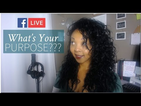 [LIVE] What's Your Purpose? How do you find it?