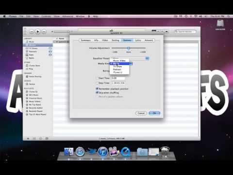 iTunes: Set Video Kind and TV Shows Library Tutorial