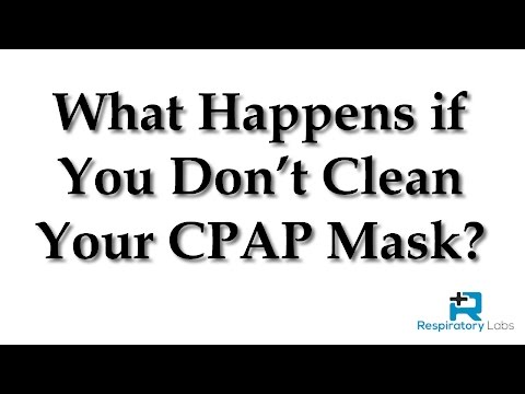 What Happens If You Don't Clean Your CPAP Mask? | Sleep Apnea
