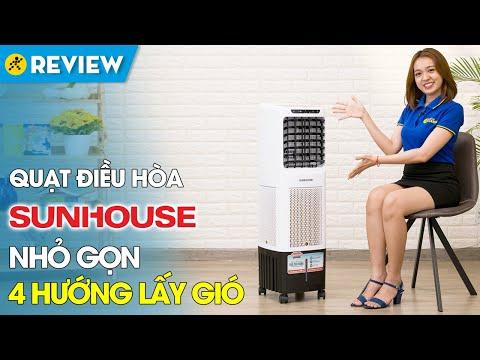 Quạt điều hoà Sunhouse: 4 hướng lấy gió, ion lọc không khí (SHD7713) • Điện máy XANH