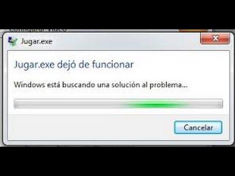 COMO SOLUCIONAR PROBLEMA (DEJO DE FUNCIONAR)
