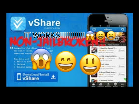 How to get vshare on ios