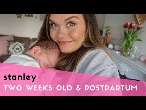 2 WEEK BABY & POSTPARTUM UPDATE - BABY DEVELOPMENT, BREASTFEEDING JOURNEY & 2 WEEK BELLY SHOT