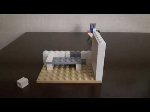 How to make a Lego jail cell.