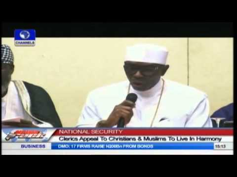 Nigerian Religious Leaders Call For Peace And Religious Tolerance