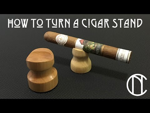 How to Turn a Cigar Stand - Craft Market Series - Episode 3