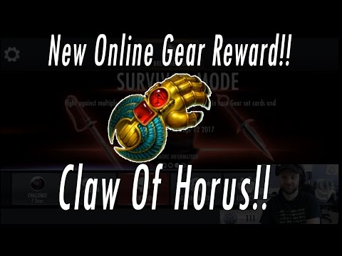 NEW GEAR Claw Of Horus Review! Best Gear To Beat Injustice 2 Superman!! New Online Season Reward!