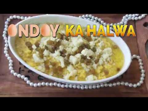 RECIPE: ANDAY KA HALWA - EGG SWEET DISH | Pakistani Kitchen