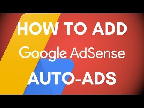 How To Add Google Adsense Auto Ads in WordPress Website   How to Setup Adsense Auto Ads