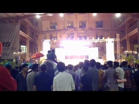 paras maan live performance at lpu after the voice india fame
