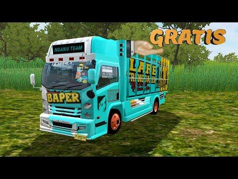 Game Android Truck Isuzu Elf NMR 71 Mod Bussid PakVim HD