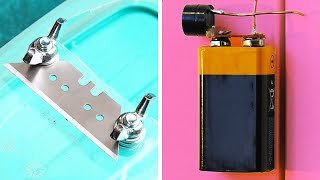 SAVE YOUR MONEY WITH THESE COOL HANDMADE GADGETS    DIY electric inventions
